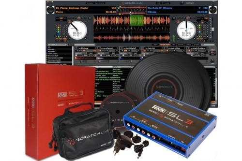 Rane Serato Scratch SL 3 Live MP3 Player (Blue UK Edition)