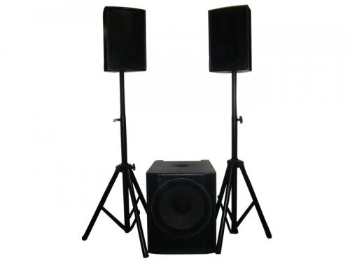 W Audio Gig Rig-1000 Active System