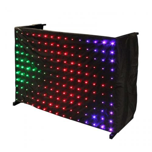 LEDJ Tri LED DJ Skirt Matrix Cloth