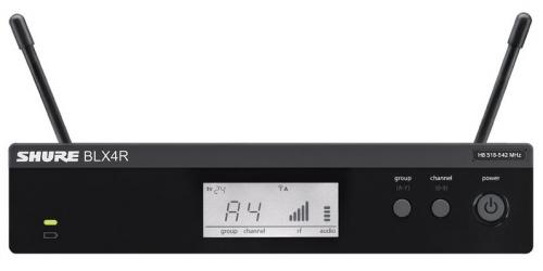 shure blx24ruk sm58 sm58 wireless rack mountable vocal system. Black Bedroom Furniture Sets. Home Design Ideas