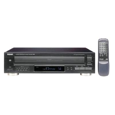Teac Black PD-D2610 5 Disc MP3 CD Changer With Remote Control.  Boxed