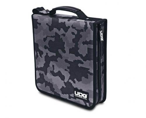 UDG Ultimate CD Wallet 128 Digital Camo Grey U9979CG