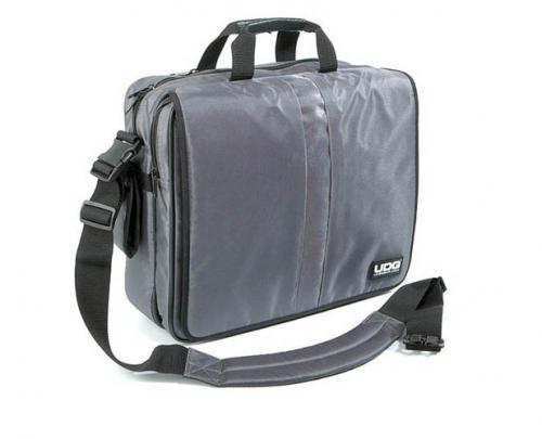 "UDG Ultimate CourierBag DeLuxe 17"" Steel Grey, Orange Inside U9490SG/OR"