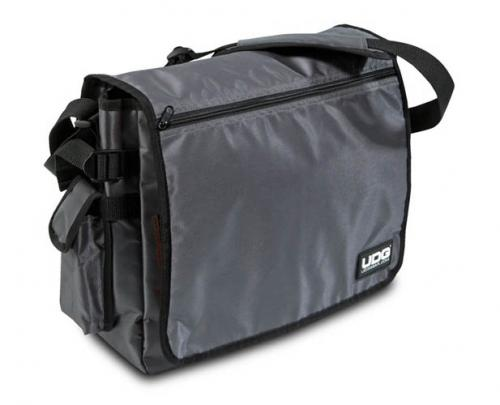 UDG Ultimate CourierBag Steel Grey, Orange Inside U9419