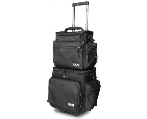 UDG Ultimate SlingBag Trolley Set DeLuxe Black, Orange Inside U9679BL/OR