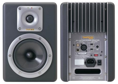 Tapco S5 Studio Monitors (Pair) - Engineered by Mackie!