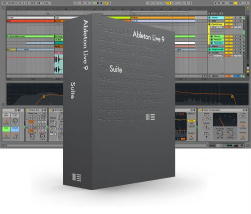 Ableton Live 9 Suite Upgrade from Live 9 Lite