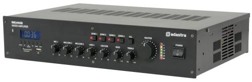Adastra RM240SB 5 Channel 100V Mixer Amps with Bluetooth