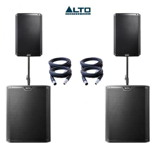 Alto TS310 & TS318S Power Pack 2