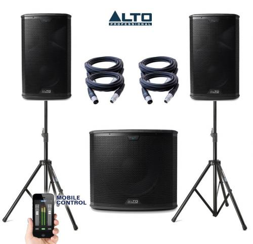 Alto Black Series 15S & 10 Power Pack #1
