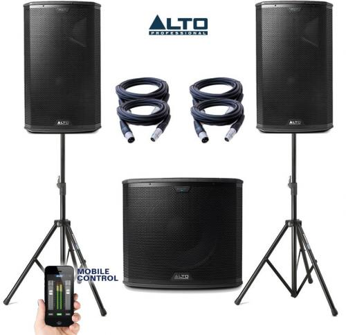 Alto Black Series 15S & 12 Power Pack #2