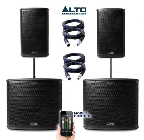 Alto Black Series 15S & 10 Power Pack #4