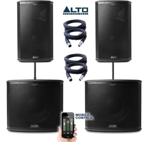 Alto Black Series 15S & 15 Power Pack #6