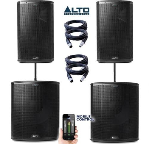 Alto Black 18S & 15 Power Pack #5
