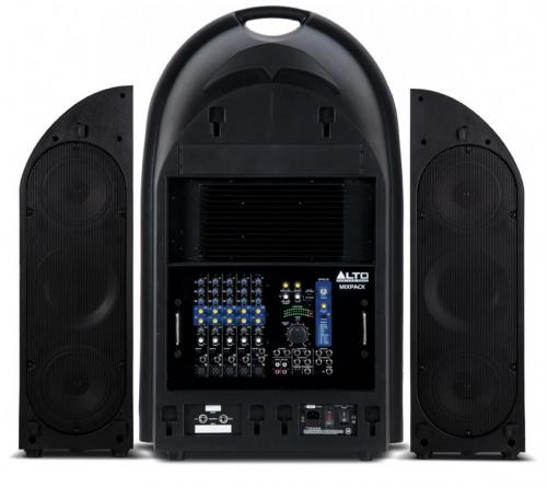 Alto MixPack Portable 3-Way Powered PA System 600W