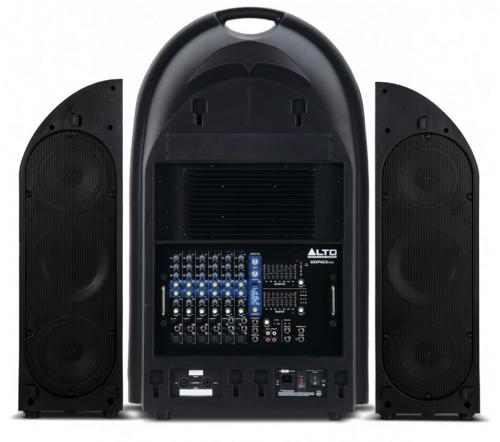 Alto MixPack Pro Portable 3-Way Powered PA System 1000W