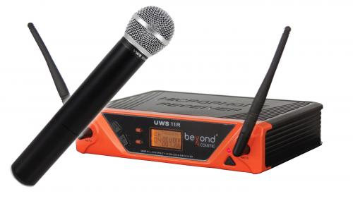 Beyond Acoustic UWS 11 UHF Wireless Mic System