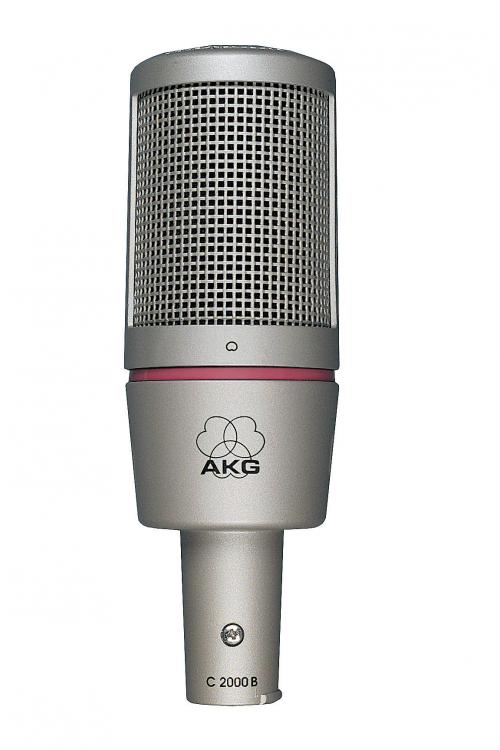 AKG 2000B Specialist Recording Studio Microphone Super low noise