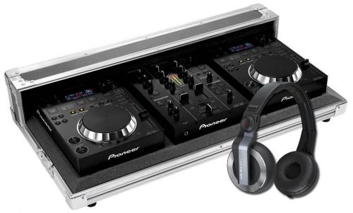 Pioneer CDJ350 & DJM350 with Pioneer Flight Case