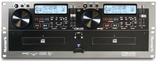 Numark CDN450 Rack-Mount Dual MP3/CD Player