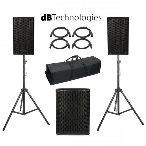 db Technologies B-Hype 10 SUB 615 Power Pack #1