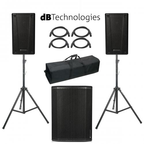 db Technologies B-Hype 12 SUB 618 Power Pack #1