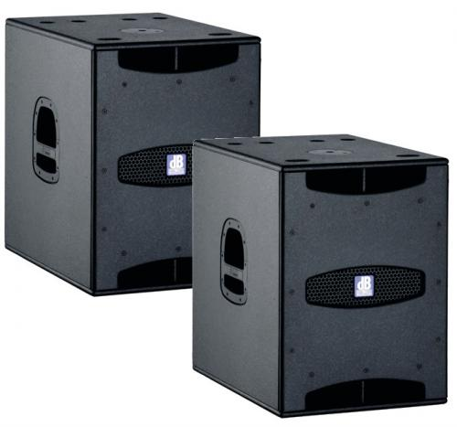 "dB Technologies SUB 15 D 15"" Active Subwoofer 800W/RMS (PAIR)"