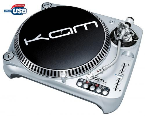 Kam Ddx4000 Usb Direct Drive Turntable Djkit Com
