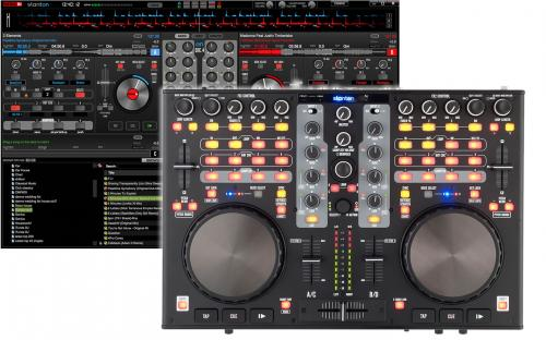 Stanton DJC4 4 Deck DJ Controller with 4 channel Audio Interface