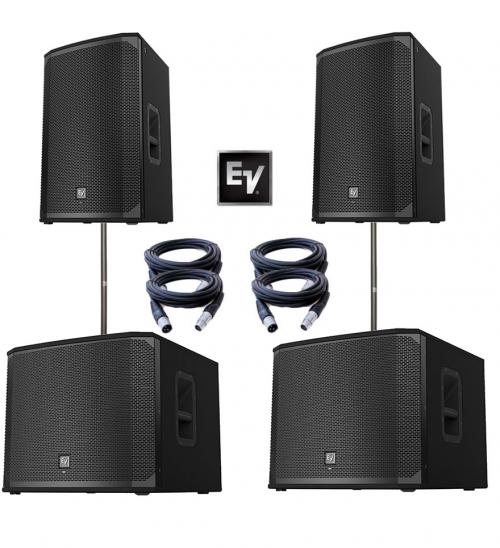 Electro-Voice EKX Dual EKX12P & EKX15SP Power Pack