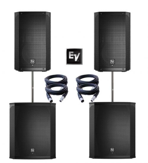Electro-Voice ELX200 Dual 15P & 18SSP Power Pack