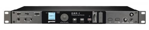 Gemini DRP-1 Rack Mountable Digital Recorder USB/SD