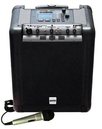 Gemini MS-USB Mobile PA System for USB/SD