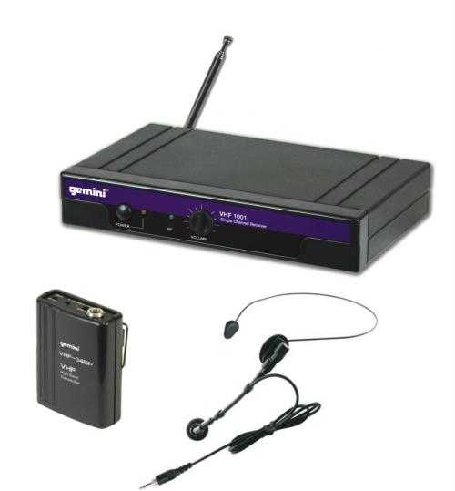 Gemini VHF1001 Headset / Lapel Radio