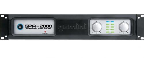 Gemini GPA 2000 Amplifier Front