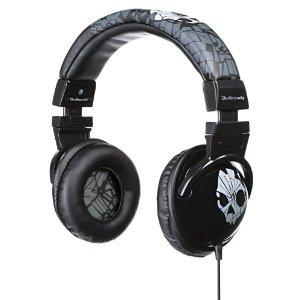Skullcandy 2010 Shattered Hesh Headphones Grey
