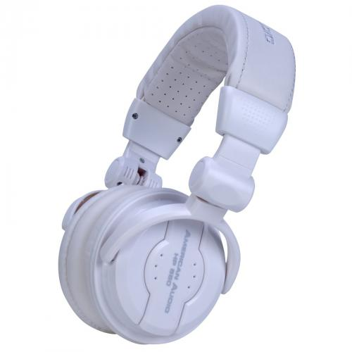 American Audio HP550 Snow Headphones (White)