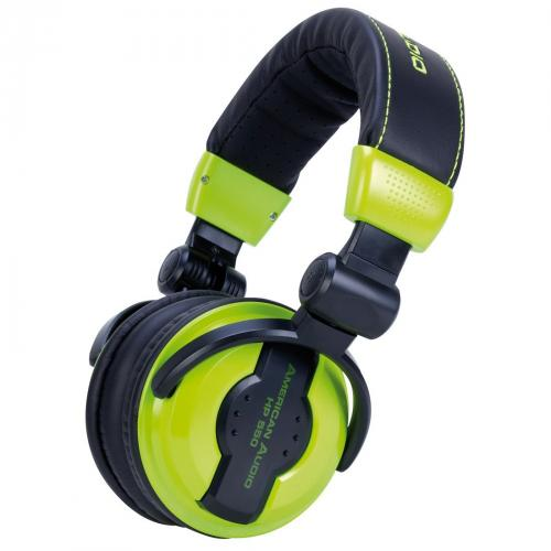 American Audio HP550 Lime Headphones