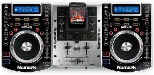 Numark iCD NDX400 DJ In A Box CD & iPod DJ System