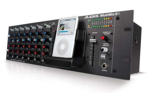 Alesis iMultiMix 9R USB Mixer with iPod Dock