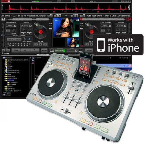 Ion Discover DJ Pro IPod Digital DJ System With Software