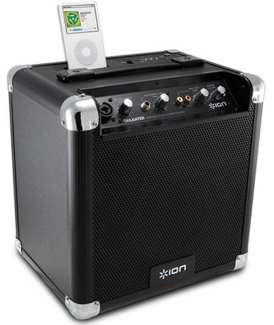 Ion TAILGATER ULTRA-PORTABLE SOUND SYSTEM FOR iPod