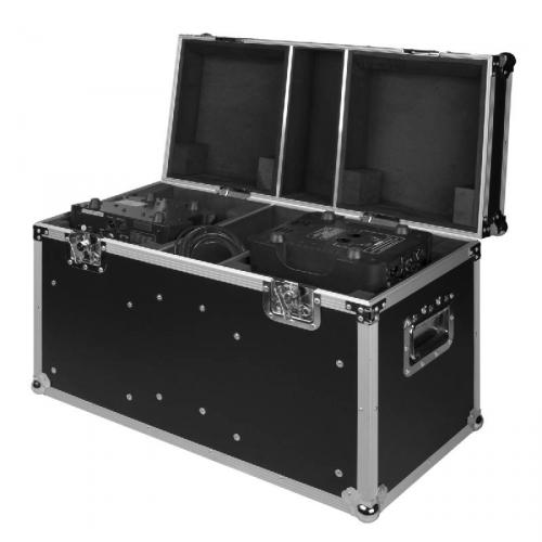 Moving Head Twin Flight Case