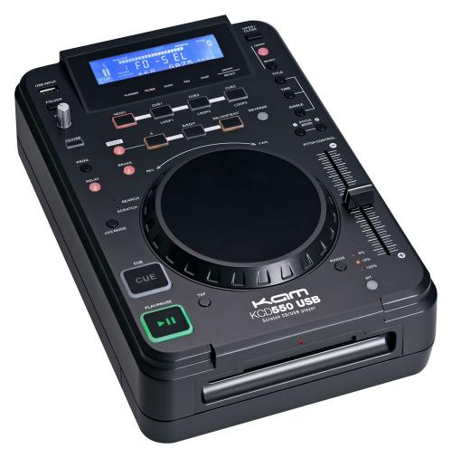 KAM KCD550 Scratch with Effects USB/CD/MP3 Player