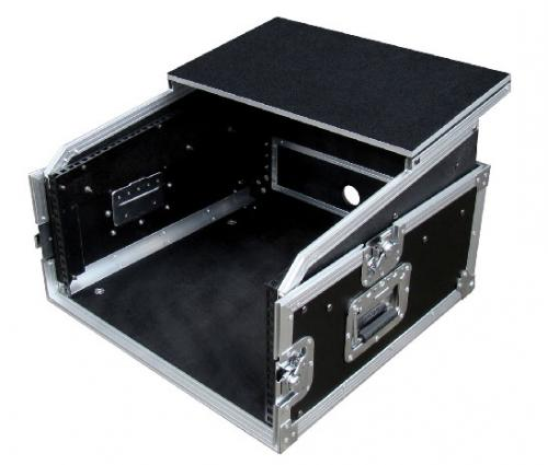 KAMKASE LAPTOP 11U 2U Slant Top Flight Cases