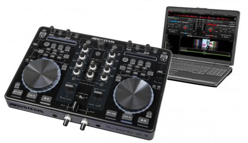 JB Systems DJ Kontrol 3 DJ MIDI Controller with Virtual DJ