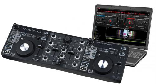 JB Systems DJ Kontrol 1 DJ MIDI Controller with Virtual DJ