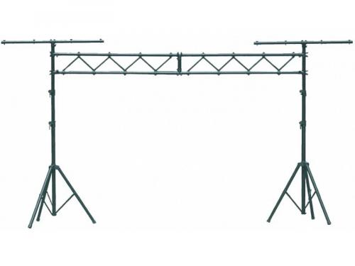 Lighting stand, with 2 T bars