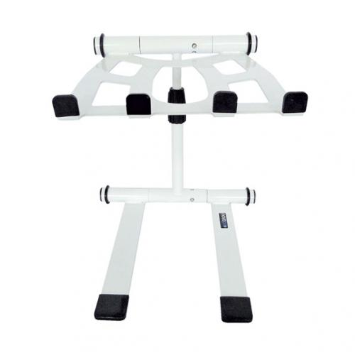 Novopro LS22M folding laptop / tablet multi stand with bag – White finish
