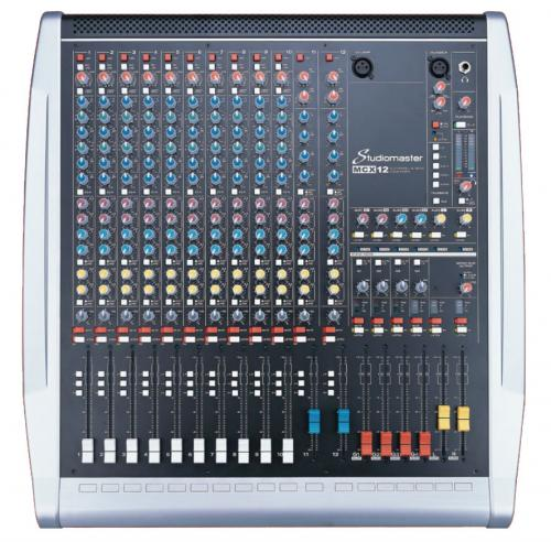 Studiomaster MCX12 12 Channel Mixer